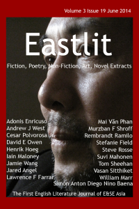 Graham Lawrence Blog: Eastlit June 2014 Cover.  Picture: Mai Văn Phấn. Photographer: Nguyễn Quang Thiều