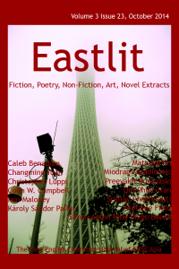Eastlit October 2014 Cover. Picture: Canton Tower in the Mist. Photographer: Miodrag Kojadinovic.