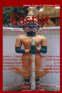 Eastlit December 2014 Cover. Picture: The Guardian. Photographer: Graham Lawrence