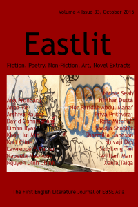 Eastlit October 2015 literary journal by Graham Lawrence.